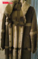 Продам женская двухсторонняя дубленка,  натуральная кожа
