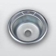 Кухонная мойка из нержавеющей стали модель 490