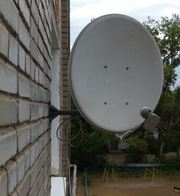 Спутниковая тарелка НТВ+ с ресивером Костанай