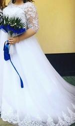 Свадебное платье 54 размер