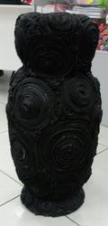ваза натуральная кожа